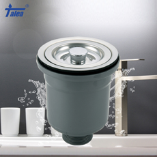 Plastic double-deck bowl strainer